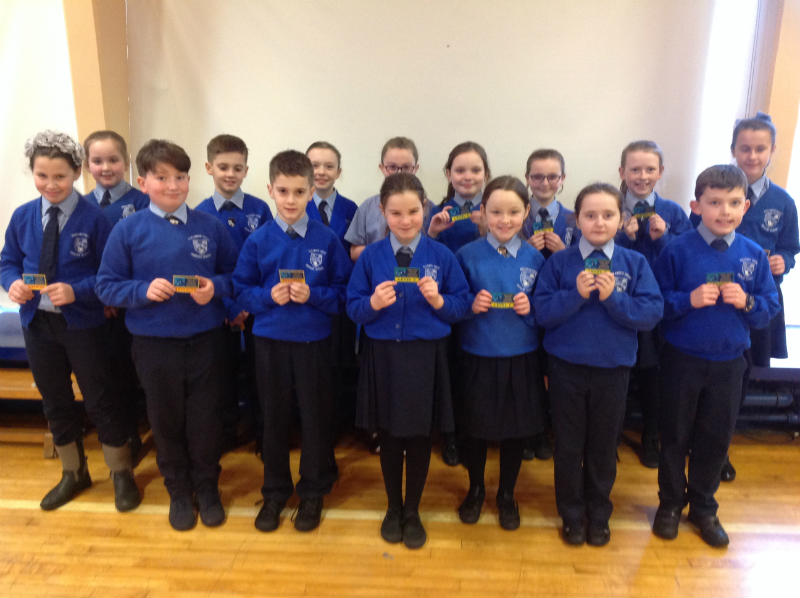 Congratulations to all our swimmers who received their badges